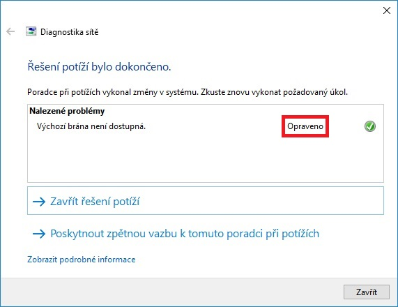 nejde wifi windows 10 04