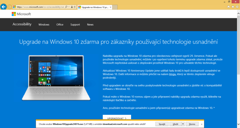 windows 8 windows 10 aktualizace 02