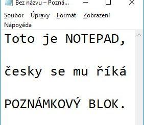 notepad poznámkový blok 2