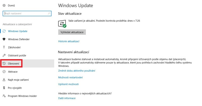 nouzový režim windows10 02