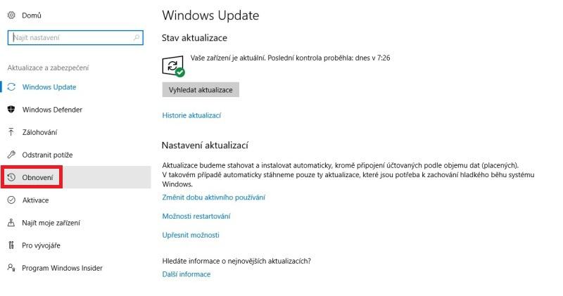nouzový režim windows10 02