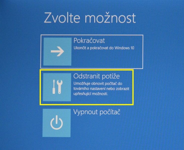 nouzový režim windows10 04