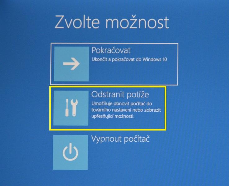 nouzový režim windows10 04