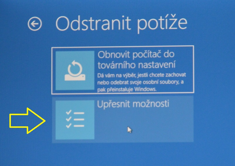 nouzový režim windows10 05