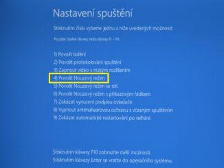 nouzový režim windows10 06