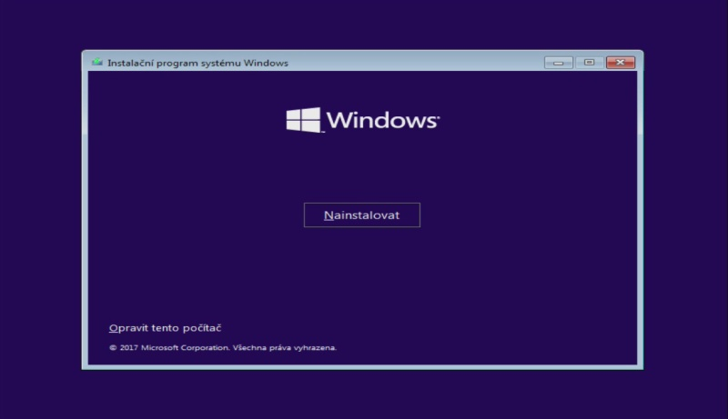 windows 10 čistá instalace usb ssd 02