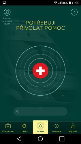 aplikace Záchranka do mobilu 06