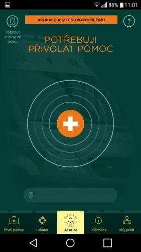 aplikace Záchranka do mobilu 08