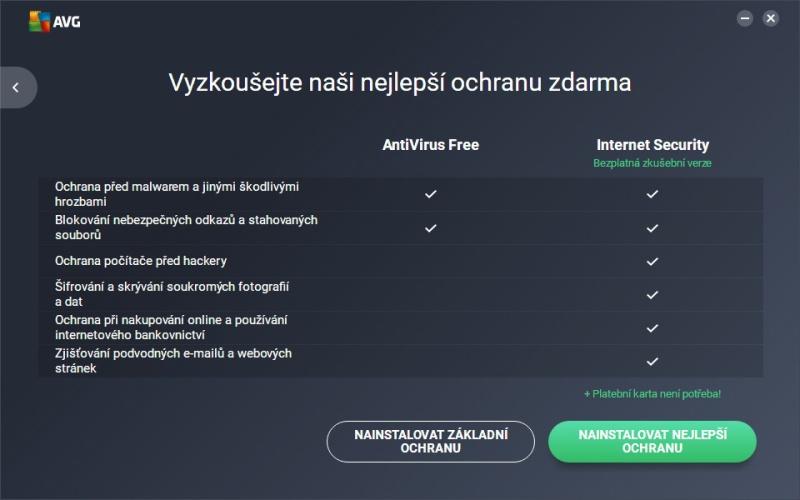 AVG free antivirus ke stažení zdarma v češtině 06