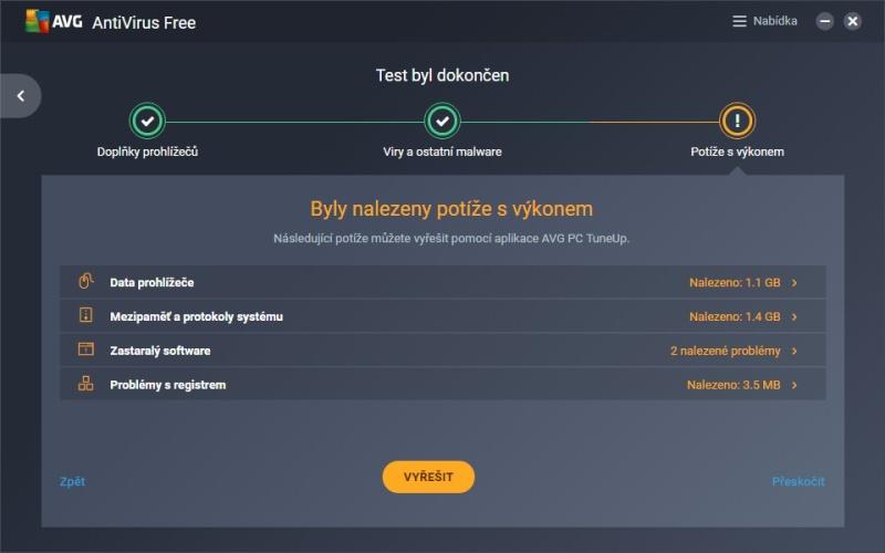 AVG free antivirus ke stažení zdarma v češtině 16