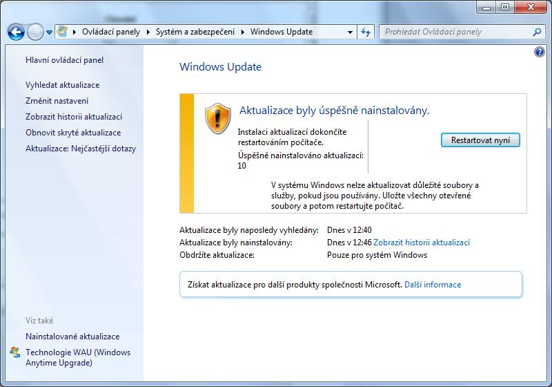 windows 7 update 09