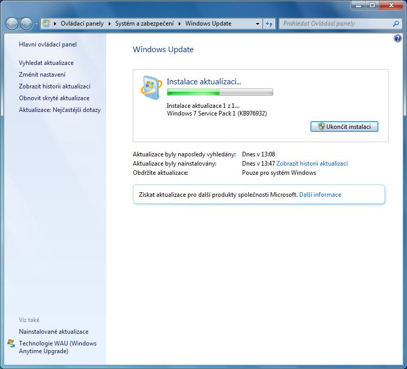 windows 7 update 13