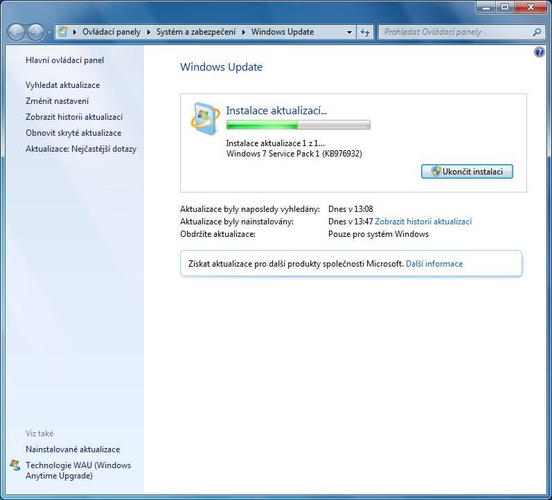 windows 7 update 13