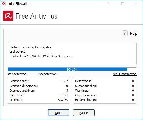 avira free antivirus 10