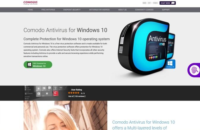 comodo free antivirus 01
