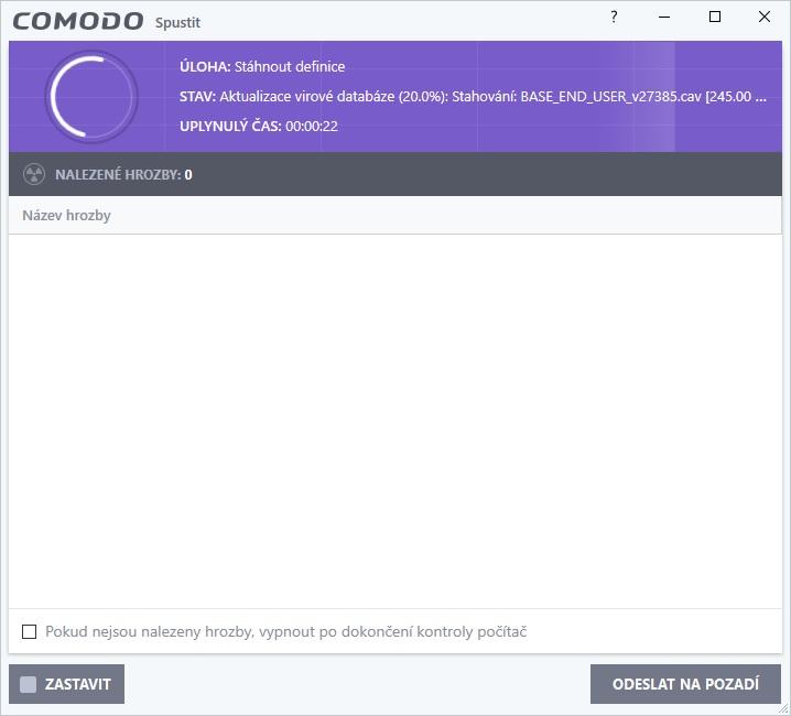 comodo free antivirus 08