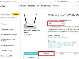 jak aktualizovat firmware routeru tp-link tl-wr841n 2