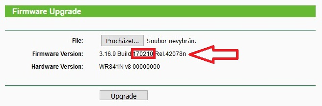jak aktualizovat firmware routeru tp-link tl-wr841n 8
