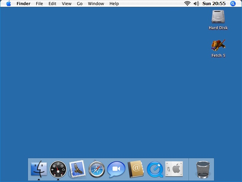 macintosh os x virtual desktop