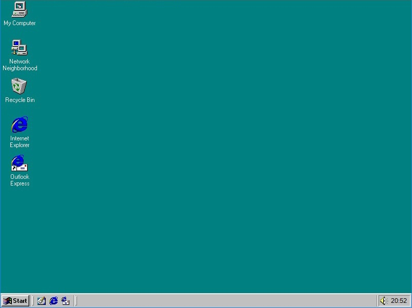 windows 95 virtual desktop