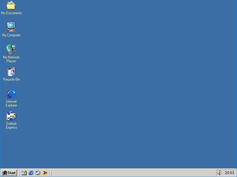windows me virtual desktop