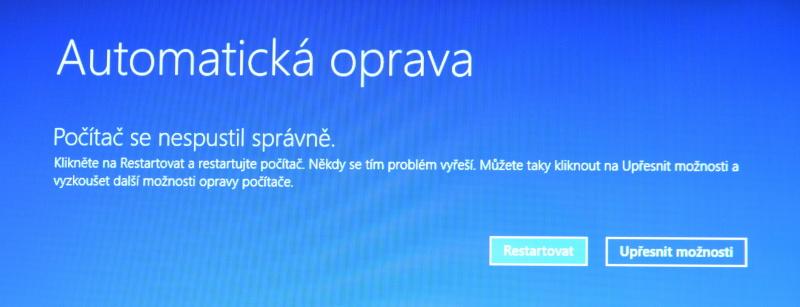 Částečné obnovení systému počítače s Windows 8 01