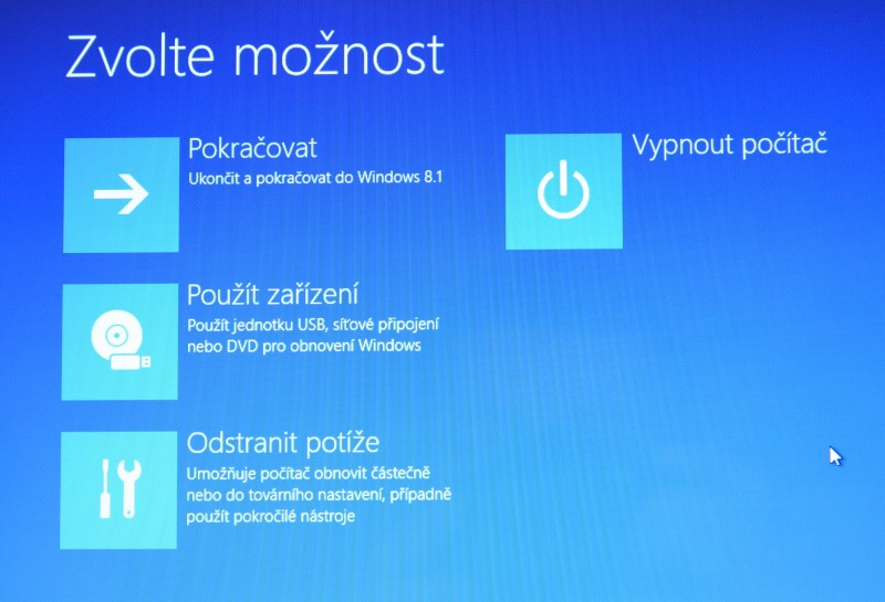 Částečné obnovení systému počítače s Windows 8 02