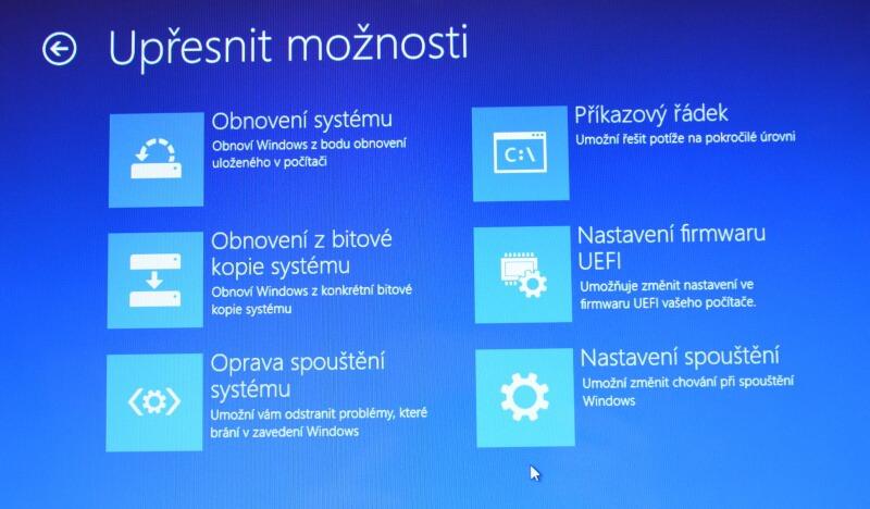 Částečné obnovení systému počítače s Windows 8 04