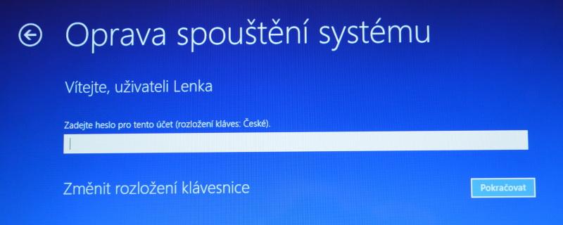 Částečné obnovení systému počítače s Windows 8 06