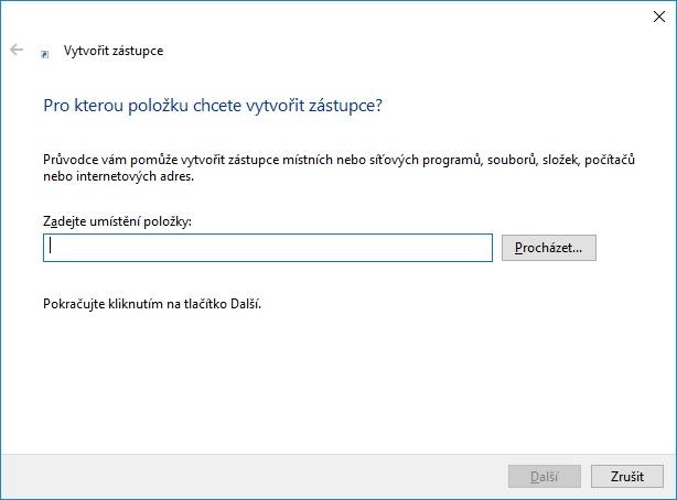 jak vytvořit zástupce na ploše ve windows 10 2