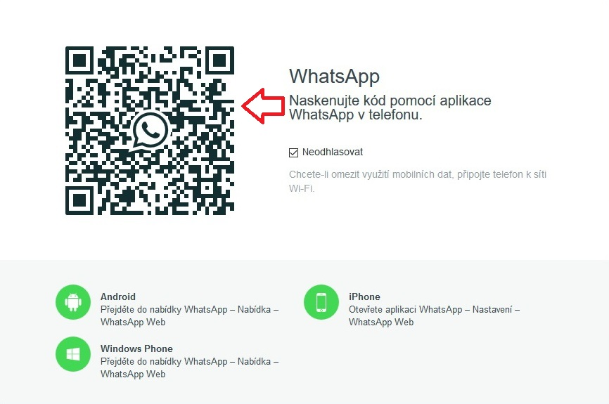 whatsapp pro počítač