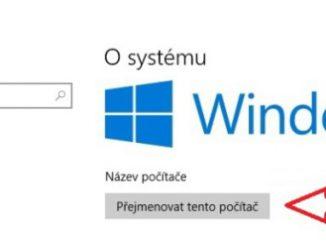 změna názvu počítače windows 10 1