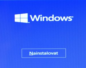 Čistá instalace Windows 10
