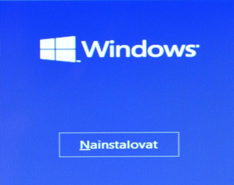 Čistá instalace Windows 10