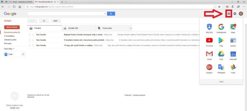 Jak založit účet na Google 07