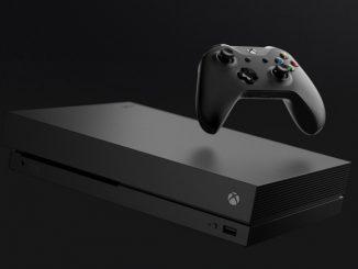 Microsoft Xbox One X herní konzole
