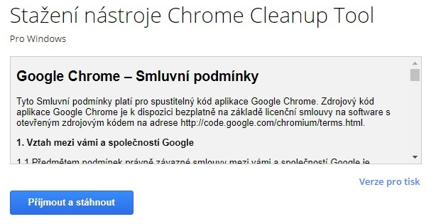 Chrome Cleanup tool 02