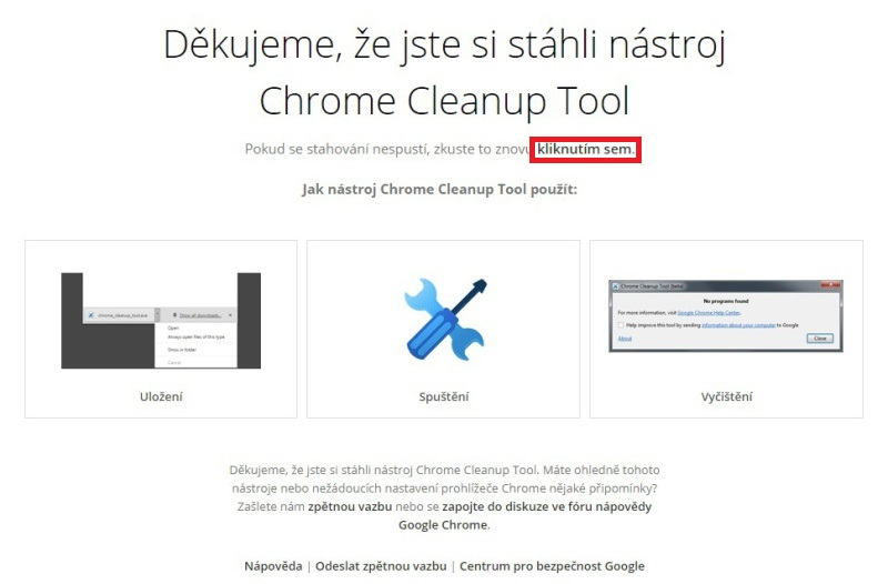 Chrome Cleanup tool 03