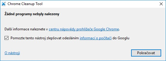 Chrome Cleanup tool 04