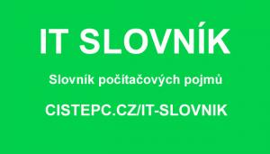 IT slovník Čisté PC
