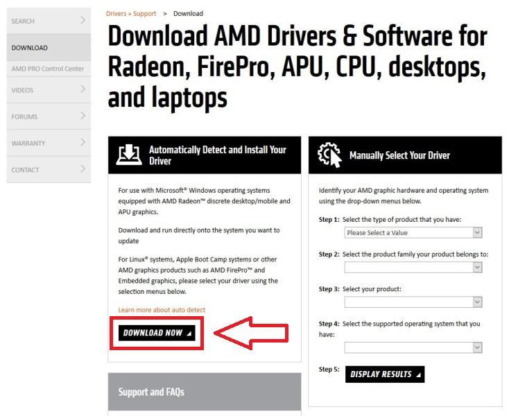 Jak aktualizovat ovladač grafické karty Amd 01