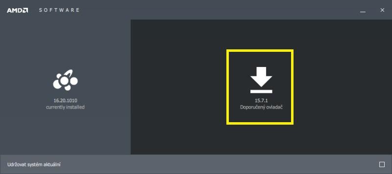 Jak aktualizovat ovladač grafické karty Amd 05
