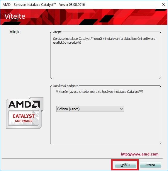 Jak aktualizovat ovladač grafické karty Amd 08