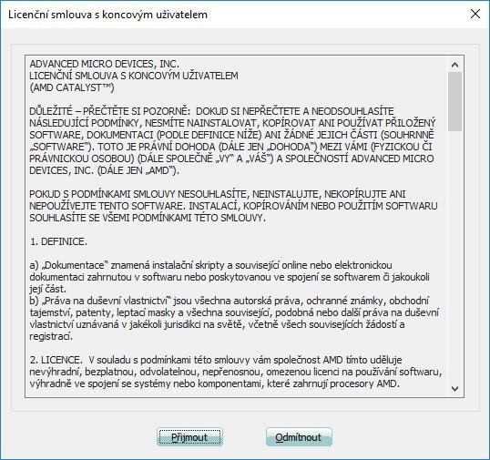 Jak aktualizovat ovladač grafické karty Amd 10