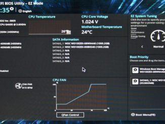Asus Prime B250M-K základní deska - bios nastavení 01