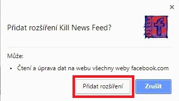 Kill News Feed - Google Chrome 2