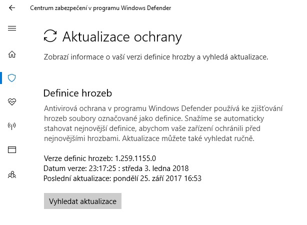 Windows Defender pro Win 10 05