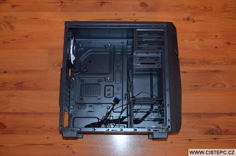 Zalman Z1 NEO počítačová skříň 4