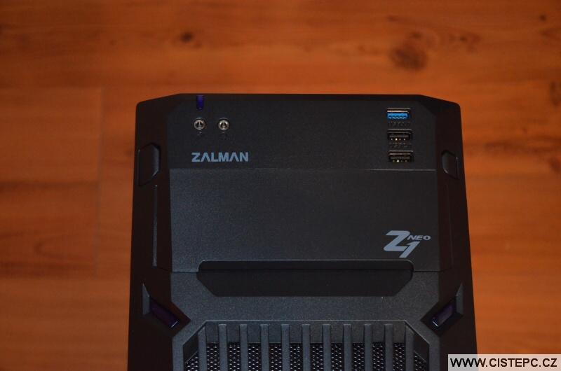 Zalman Z1 NEO počítačová skříň 6