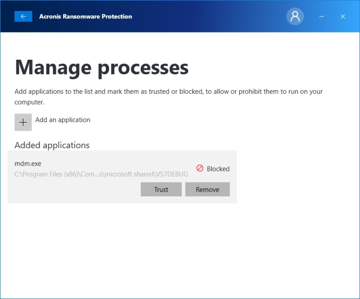 Acronis ransomware protection 12